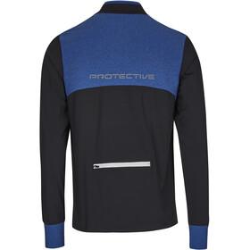 Protective P-Math Longsleeve Jersey Herren mid blue
